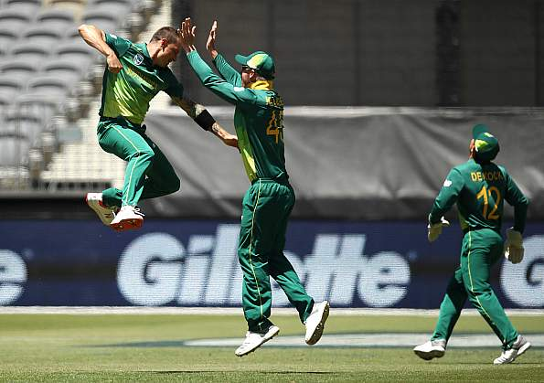 Dale Steyn was exception in Perth, finishing with figures of 7-1-18-2